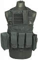 Chest rig Recon, black, ACM