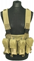 Chest rig, small, TAN, ACM