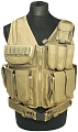 Universal tactical vest, TAN, ACM