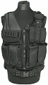 Universal tactical vest, black, ACM