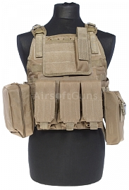 Plate carrier MPS, TAN, ACM