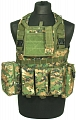 Chest rig Recon, digital woodland, ACM