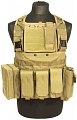 Chest rig Recon, TAN, ACM