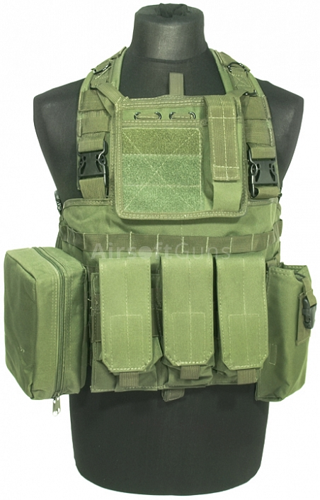 Chest rig Recon, OD, ACM