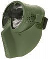 Protective mask, with mesh, OD, ACM