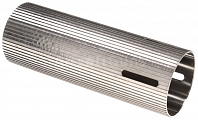 Polished stainless steel cylinder M4, grooved, O slot, SHS