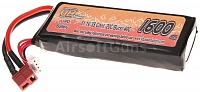 Battery, medium block, Li-Pol, 11.1V, 1600mAh, 20C, VB Power