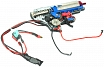 Full gearbox v. 2, M4, 150m/s, rear wire, AirsoftGuns