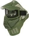 Protective mask, with mesh, large, OD, ACM