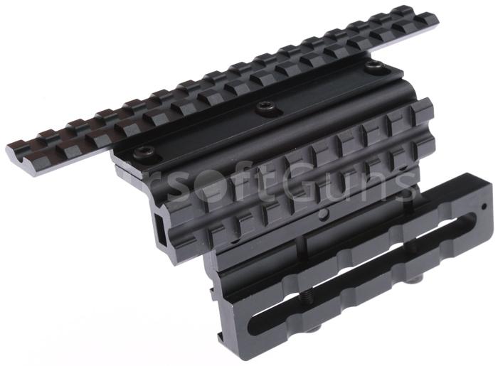 Side mount base, AK, Sa vz  58, Double Rail Gen 2, SHS