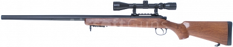 VSR-03F, wood style, scope, Well, MB03F