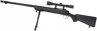VSR-07D, black, bipod, scope, Well, MB07D