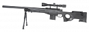 L96 AWS, black, bipod, scope, Well, MB4401D