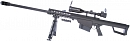 Barrett M82A1, bipod, scope, Snow Wolf, SW-02A