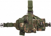 Tactical leg panel, SWAT, digital woodland, ACM