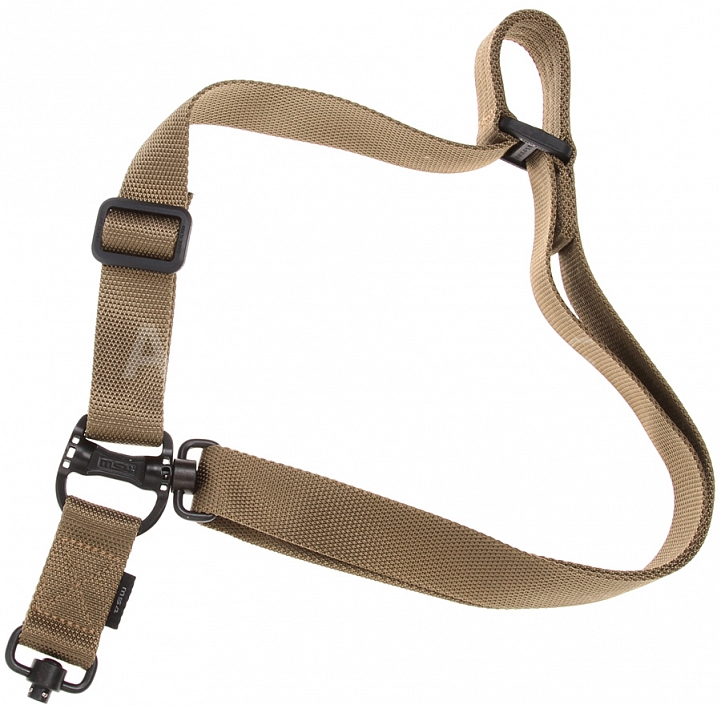 Tactical sling, MS4 Dual QD, Multi Mission, FDE, Magpul PTS