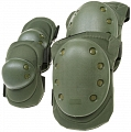Knee and elbow pads set, SWAT, OD, ACM