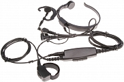 Throat microphone headset, AE 38, Midland