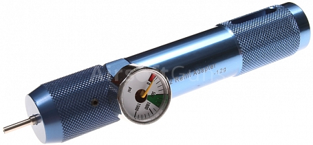 Fillers for 12g CO2 cartridge with a pressure gauge, PPS, SHS