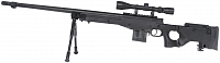 L96 AWS3, black, bipod, scope, Well, MB4403D