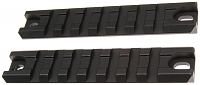 Tactical rails for G36C, G36K, ACM