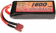 Battery, mini block, Li-Pol, 11.1V, 1600mAh, 20C, VB Power