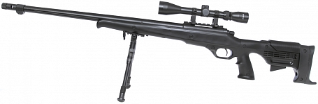 VSR-11D, black, bipod, scope, Well, MB11D