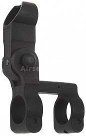 Folding front sight for M16, M4, Cyma