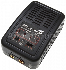 Intelligent battery charger, Li-Pol, Li-Fe, ASG