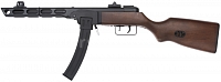 PPSh-41, two magazines, blowback, Snow Wolf, SW-09