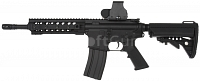 M4 URX3 CQB, Red dot, black, Cyma, CM.002-A