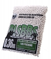 Airsoft BBs, 0.36g, 6mm, white, 2800rd, BLS