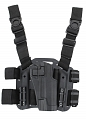 Tactical holster, Colt M1911 CQC, black, Blackhawk