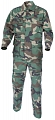 Complete US BDU uniform, woodland, L, ACM