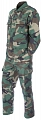 Complete US BDU uniform, woodland, XXL, ACM