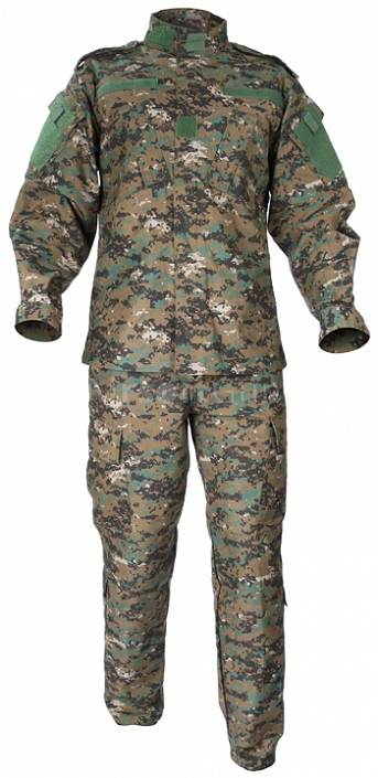 Complete US ACU uniform, digital woodland, XL, ACM