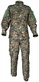 Complete US ACU uniform, digital woodland, XXL, ACM