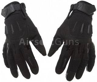 Tactical gloves, IRONSIGHT, black, M, ACM