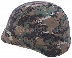 Helmet cover, PASGT M88, digital woodland, ACM
