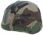 Helmet cover, PASGT M88, woodland, ACM