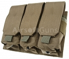 Magazine pouch, universal, triple, TAN, ACM