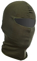 Tactical balaclava, one hole, cotton, OD, ACM