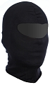 Tactical balaclava, one hole, cotton, black, ACM