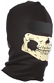 Balaclava Ghost, one hole, glow faceskull, black, ACM