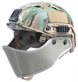 Cover of face for helmet, FG, TMC