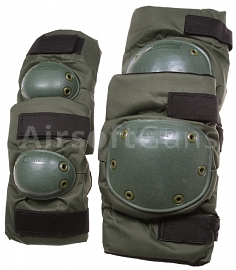 Knee and elbow pads set, SF, OD, Blackhawk