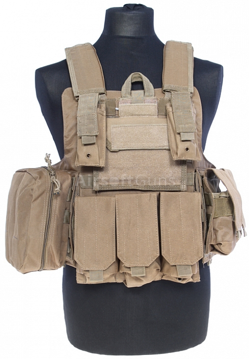 Plate carrier Ciras MTS, TAN, ACM
