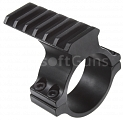 Top scope mount with RIS, 25mm, 30mm, ACM