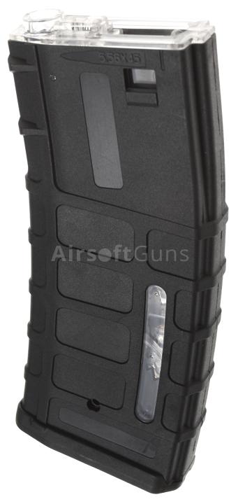 Airsoft TOMTAC M4 Scar Hi Cap Magazine Mag 300rds WINDING AEG Black Metal JG for sale online