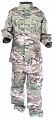 Complete children US ACU uniform, multicam, 130cm, ACM
